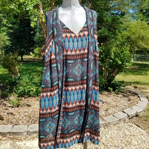 SIGNATURE BY ROBBIE BEE DRESS SIZE 16W